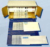 Adbags - Self-Sealing Perforated Pre-Opened Poly Bags on a Roll